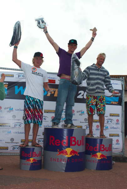 2011 UK Freestyle Championships Podium - 1st Place