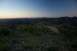 Late evening in Gamsberg National Park